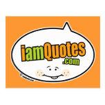 logotipo de iamQuotes.com Postales
