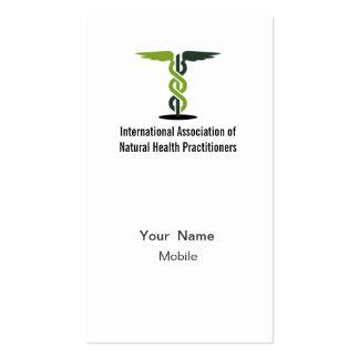 Logotipo de IANHP Plantillas De Tarjeta De Negocio