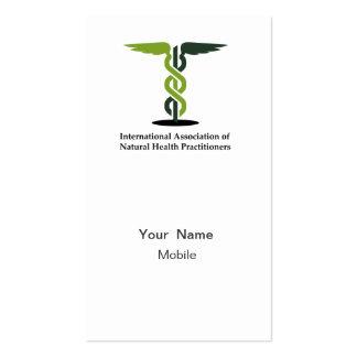 Logotipo de IANHP Tarjeta De Visita