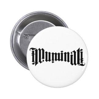 Logotipo de Illuminati Pin Redondo 5 Cm