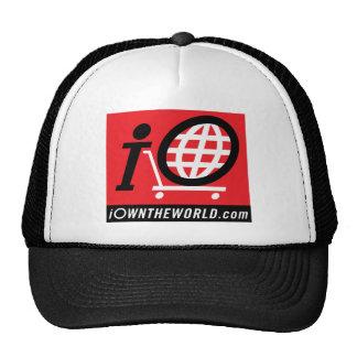 logotipo de iOwnTheWorld.com Gorra
