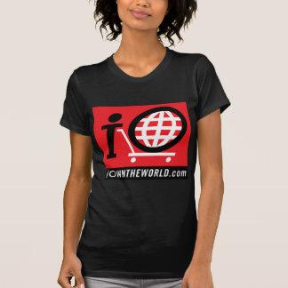 logotipo de iOwnTheWorld.com Camisetas