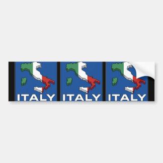 Logotipo de Italia del viaje del vintage Pegatina De Parachoque
