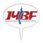 Logotipo de IYBF Figuras De Tarta