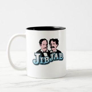 Logotipo de JibJab - taza