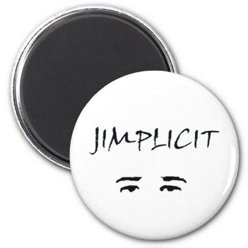 Logotipo de Jimplicit Imanes Para Frigoríficos