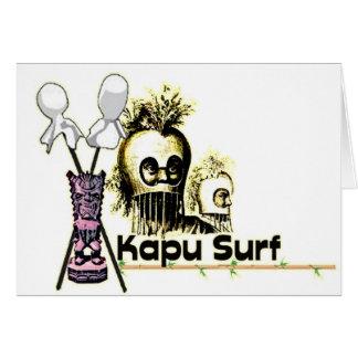 Logotipo de Kapu Tarjeta De Felicitación