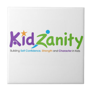 LOGOTIPO de KidZanity Azulejo Cuadrado Pequeño
