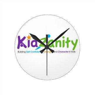 LOGOTIPO de KidZanity Reloj De Pared