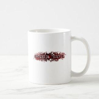 Logotipo de Krystal Night© Tazas De Café