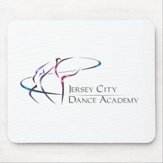 Logotipo de la academia de la danza de Jersey City Tapetes De Ratones