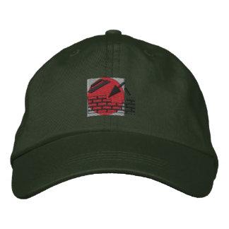 Logotipo de la albañilería gorra de béisbol