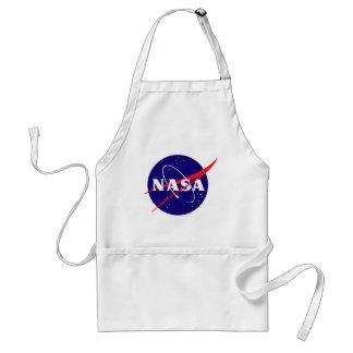 Logotipo de la albóndiga de la NASA Delantal