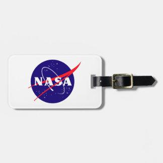 Logotipo de la albóndiga de la NASA Etiquetas Maletas
