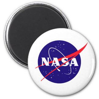 Logotipo de la albóndiga de la NASA Imán Redondo 5 Cm