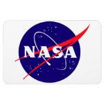Logotipo de la albóndiga de la NASA Imanes De Vinilo