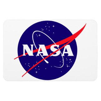 Logotipo de la albóndiga de la NASA Imanes Flexibles