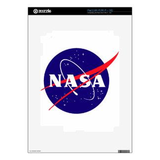 Logotipo de la albóndiga de la NASA iPad 2 Calcomanías