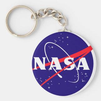 Logotipo de la albóndiga de la NASA Llavero Redondo Tipo Pin