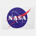 Logotipo de la albóndiga de la NASA Toallas De Mano