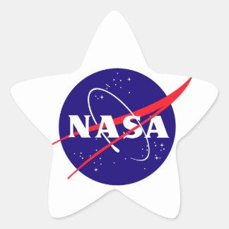 Logotipo de la albóndiga de la NASA Etiqueta