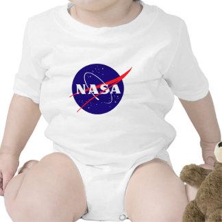 Logotipo de la albóndiga de la NASA Traje De Bebé
