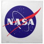 Logotipo de la albóndiga de la NASA Servilleta Imprimida
