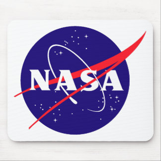 Logotipo de la albóndiga de la NASA Tapetes De Ratón