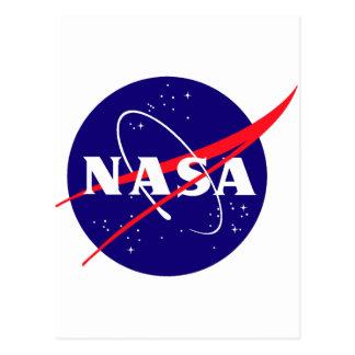 Logotipo de la albóndiga de la NASA Tarjeta Postal