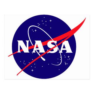 Logotipo de la albóndiga de la NASA Tarjetas Postales