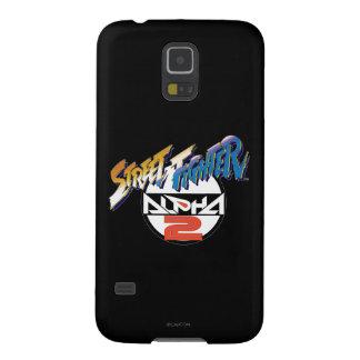 Logotipo de la alfa 2 de Street Fighter Carcasa Para Galaxy S5