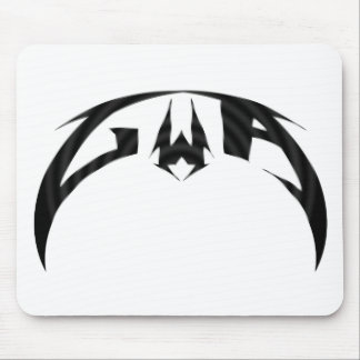 Logotipo de la alfa de GWA Alfombrilla De Ratones