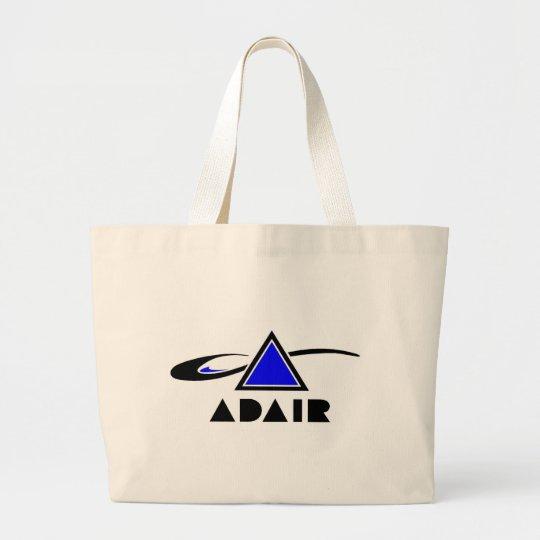 Logotipo de la banda de ADAIR Co. Bolsa De Tela Grande