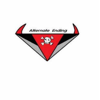 logotipo de la banda fotoescultura vertical