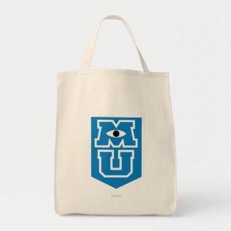 Logotipo de la bandera de MU Bolsa Tela Para La Compra
