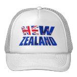 Logotipo de la bandera del kiwi de Nueva Zelanda A Gorro De Camionero