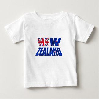 Logotipo de la bandera del kiwi de Nueva Zelanda Polera