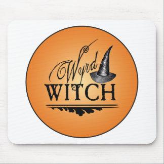 Logotipo de la bruja de Wyrd Alfombrillas De Ratón