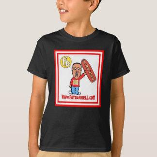 Logotipo de la Camiseta-Juventud FD1 (negro) Camisas