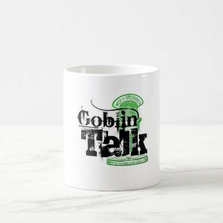¡Logotipo de la charla del Goblin - taza de café!