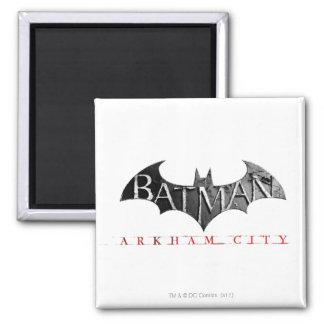 Logotipo de la ciudad de Batman Arkham Imán Para Frigorifico