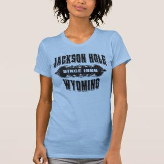 Logotipo de la colección antigua de Jackson Hole Playera
