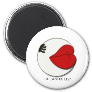 Logotipo de la compañía del LLC de Belanita Imán De Frigorifico