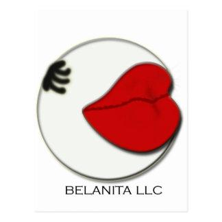 Logotipo de la compañía del LLC de Belanita Postales