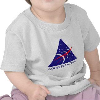 Logotipo de la constelación camiseta