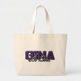 Logotipo de la diva del La de Gina Bolsas