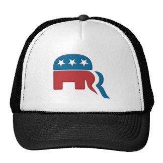 Logotipo de la elección del Partido Republicano de Gorras De Camionero