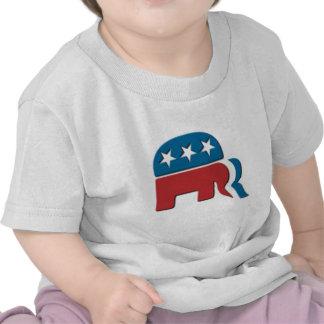 Logotipo de la elección del Partido Republicano de Camiseta