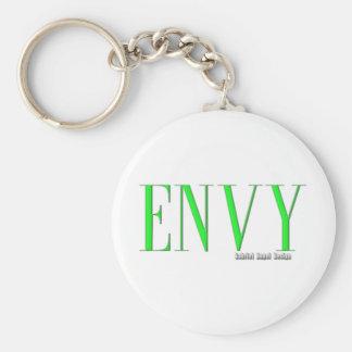 Logotipo de la envidia llaveros personalizados