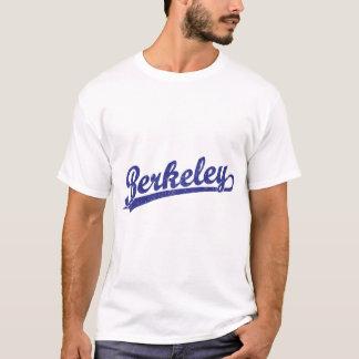 Logotipo de la escritura de Berkeley en azul Playera